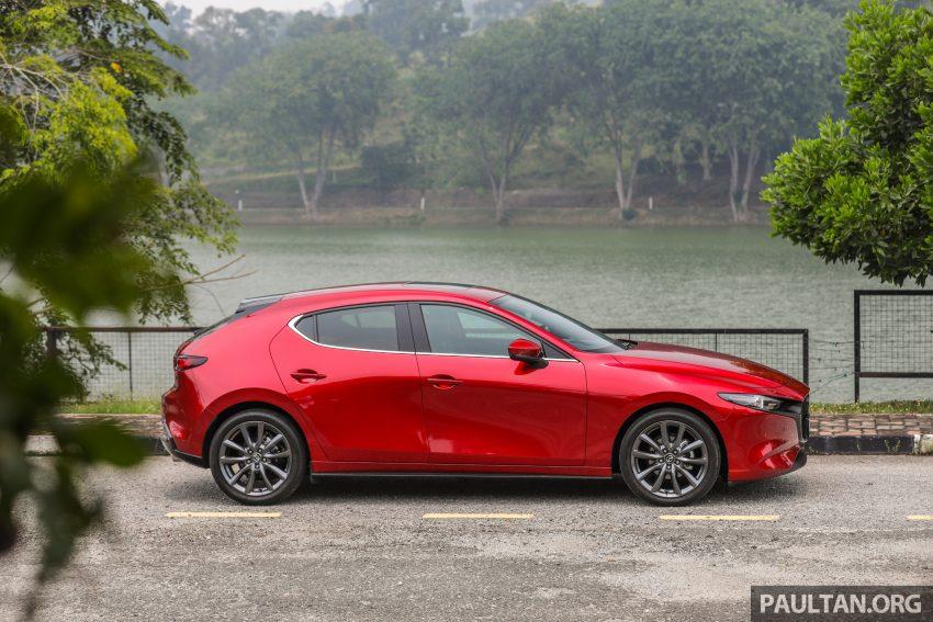试驾:全新四代 Mazda 3,迄今最精致的非豪华品牌车型 Image #105549