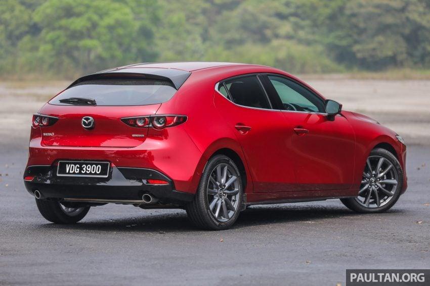 试驾:全新四代 Mazda 3,迄今最精致的非豪华品牌车型 Image #105511