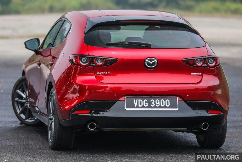 试驾:全新四代 Mazda 3,迄今最精致的非豪华品牌车型 Image #105513
