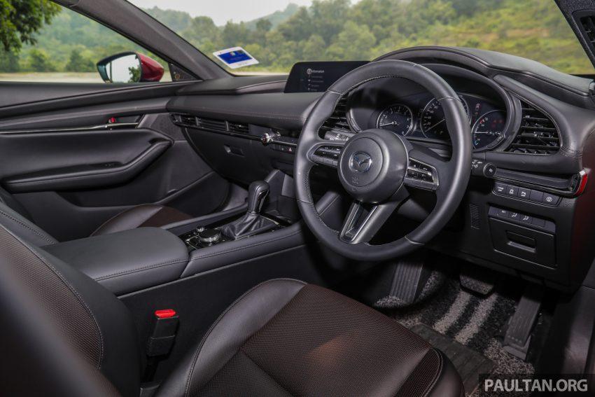 试驾:全新四代 Mazda 3,迄今最精致的非豪华品牌车型 Image #105553