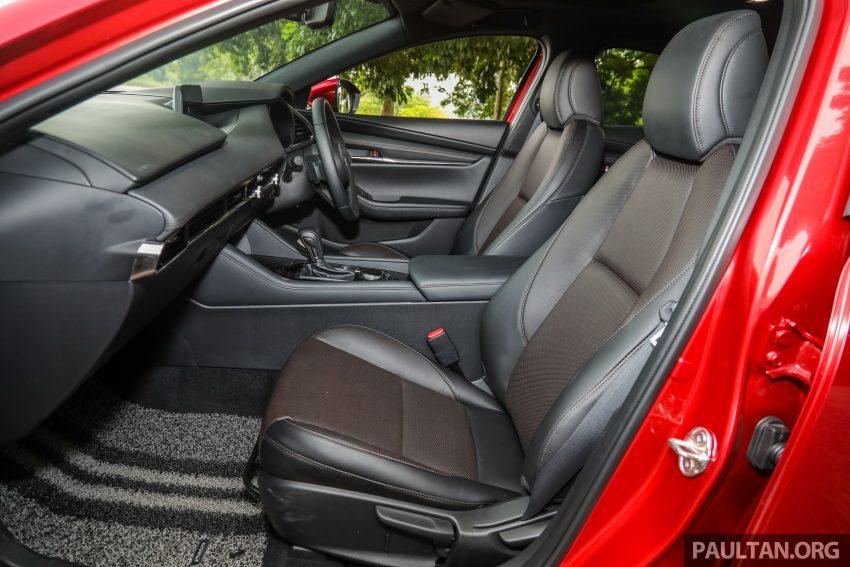 试驾:全新四代 Mazda 3,迄今最精致的非豪华品牌车型 Image #105589