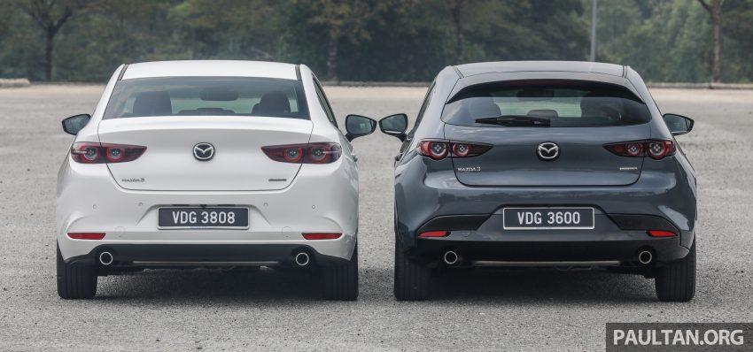 试驾:全新四代 Mazda 3,迄今最精致的非豪华品牌车型 Image #105631