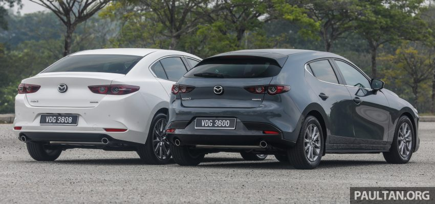 试驾:全新四代 Mazda 3,迄今最精致的非豪华品牌车型 Image #105624
