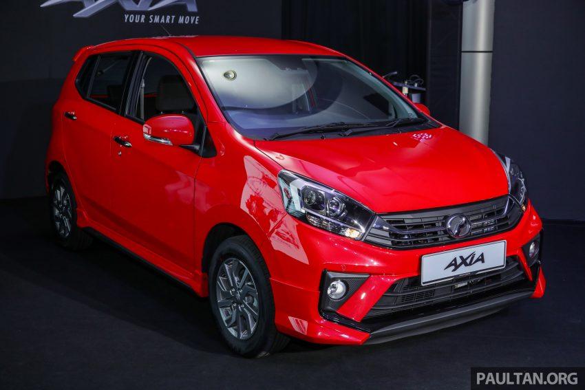 2019 Perodua Axia 小升级开售, VSC入列, 新增跨界等级 Image #106186