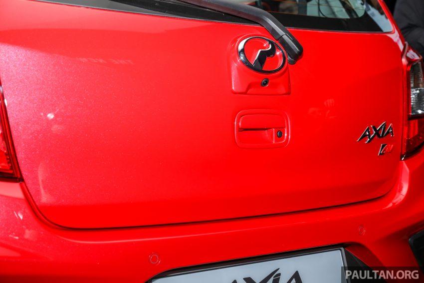 2019 Perodua Axia 小升级开售, VSC入列, 新增跨界等级 Image #106204