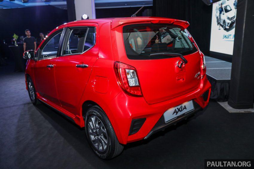 2019 Perodua Axia 小升级开售, VSC入列, 新增跨界等级 Image #106187