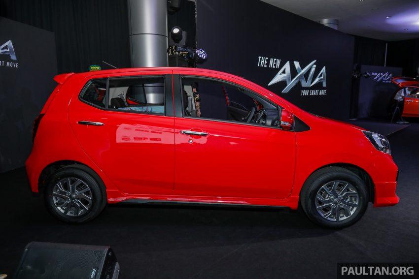 2019 Perodua Axia 小升级开售, VSC入列, 新增跨界等级 Image #106188