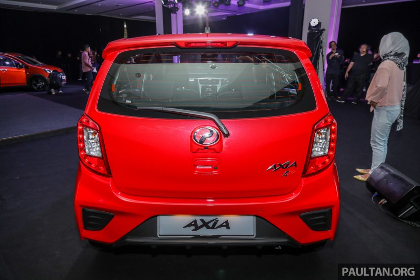2019 Perodua Axia 小升级开售, VSC入列, 新增跨界等级 Image #106190