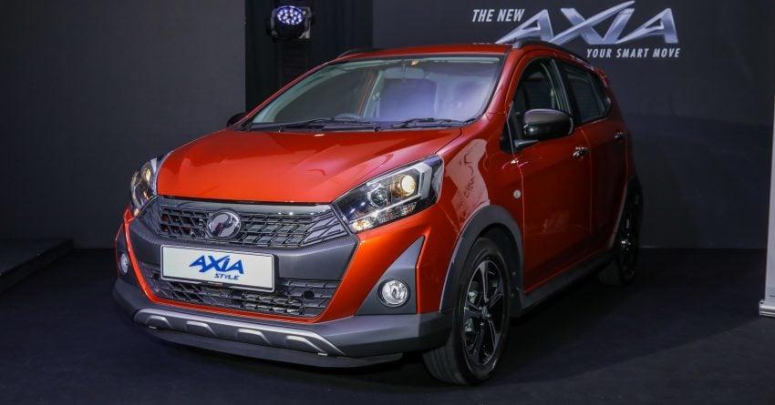 2019 Perodua Axia 小升级开售, VSC入列, 新增跨界等级 Image #106236