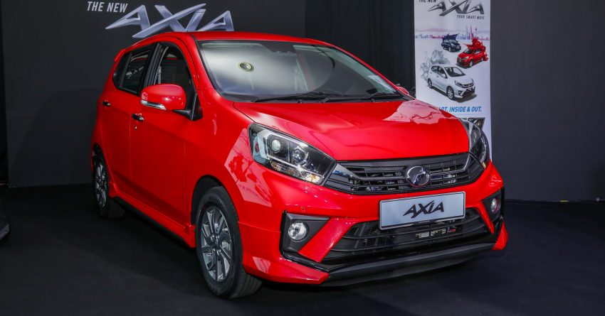 2019 Perodua Axia 小升级开售, VSC入列, 新增跨界等级 Image #106237
