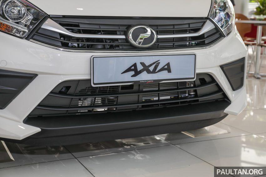 2019 Perodua Axia 小升级开售, VSC入列, 新增跨界等级 Image #106248