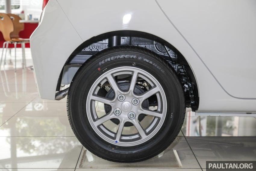 2019 Perodua Axia 小升级开售, VSC入列, 新增跨界等级 Image #106250