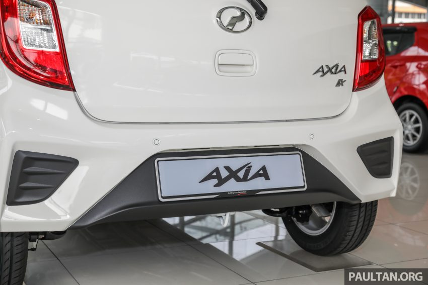 2019 Perodua Axia 小升级开售, VSC入列, 新增跨界等级 Image #106258