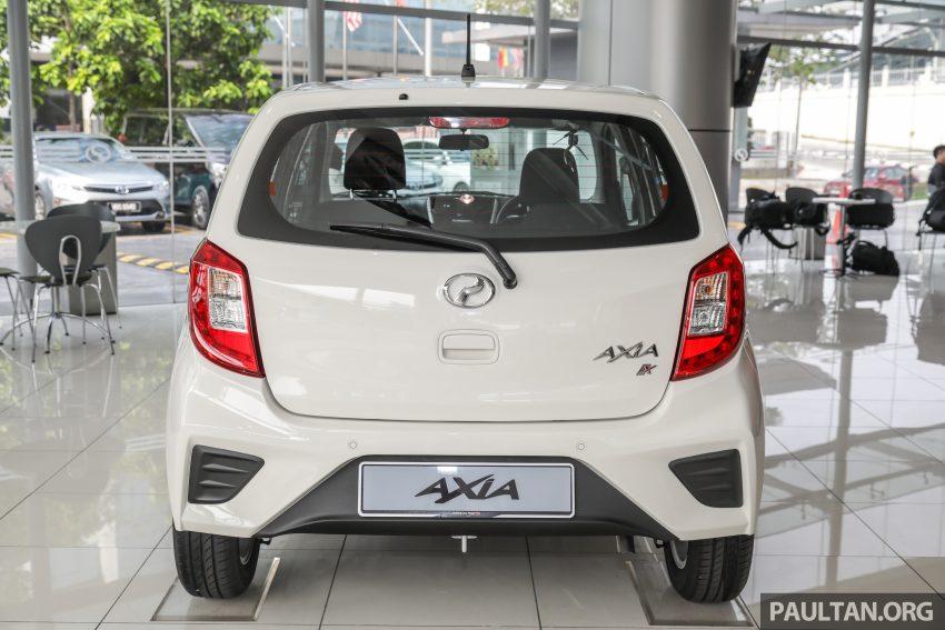 2019 Perodua Axia 小升级开售, VSC入列, 新增跨界等级 Image #106243