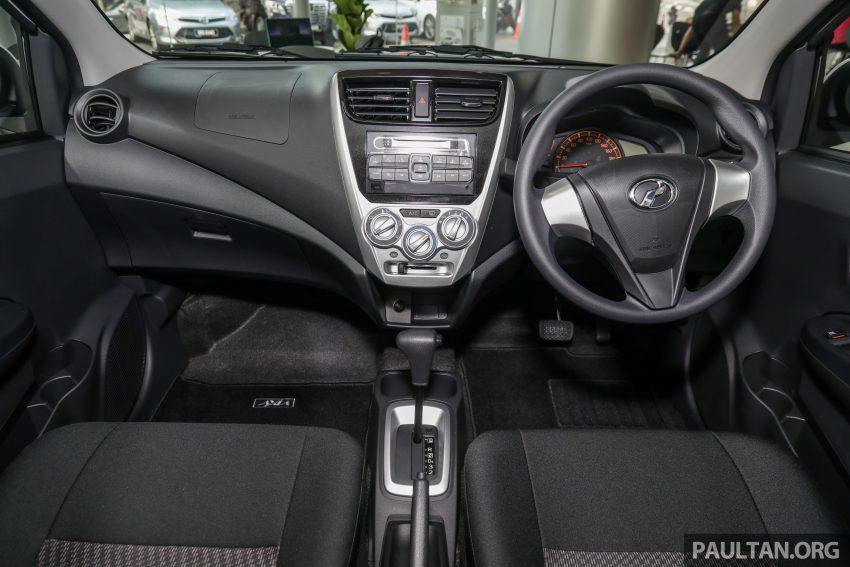 2019 Perodua Axia 小升级开售, VSC入列, 新增跨界等级 Image #106261