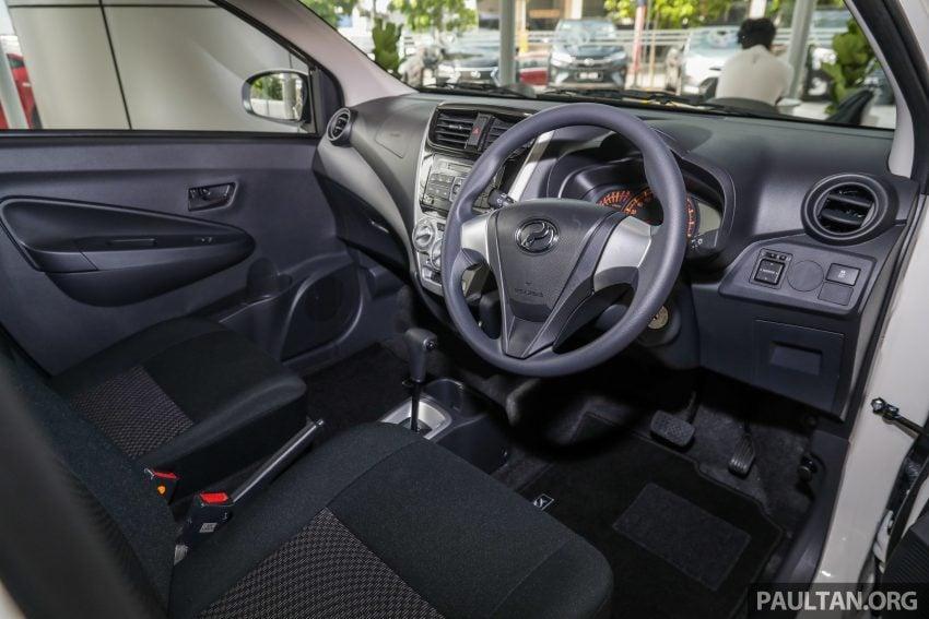 2019 Perodua Axia 小升级开售, VSC入列, 新增跨界等级 Image #106262