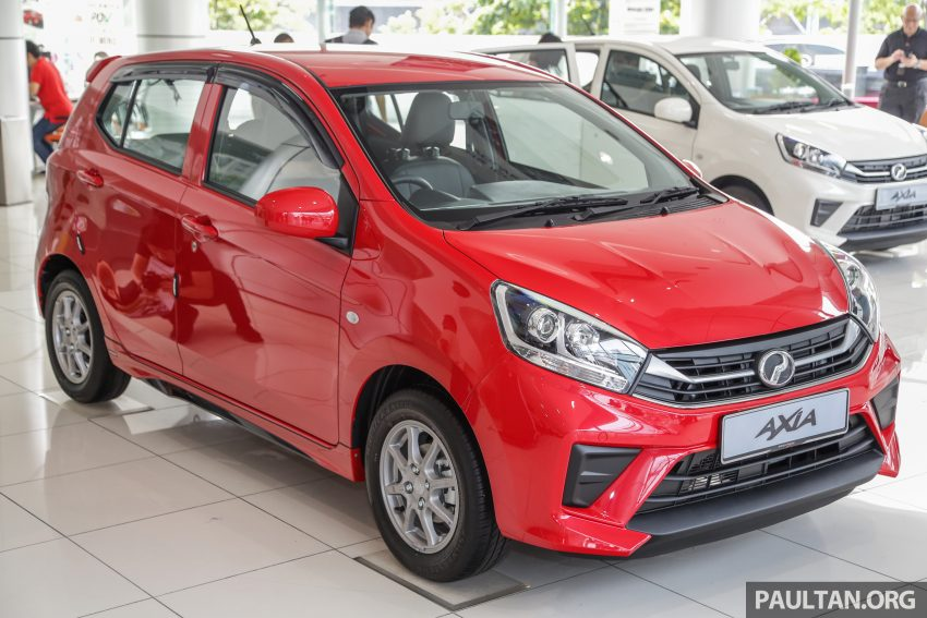 2019 Perodua Axia 小升级开售, VSC入列, 新增跨界等级 Image #106340