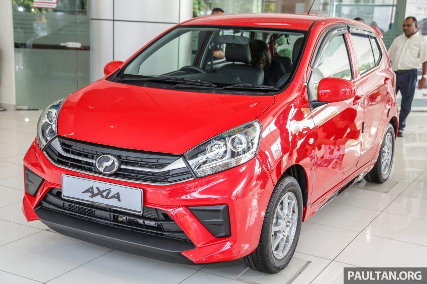 2019 Perodua Axia 小升级开售, VSC入列, 新增跨界等级 Image #106341