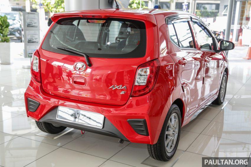 2019 Perodua Axia 小升级开售, VSC入列, 新增跨界等级 Image #106343