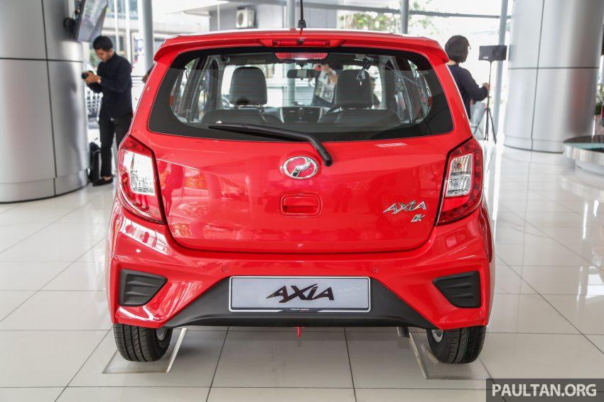 2019 Perodua Axia 小升级开售, VSC入列, 新增跨界等级 Image #106345