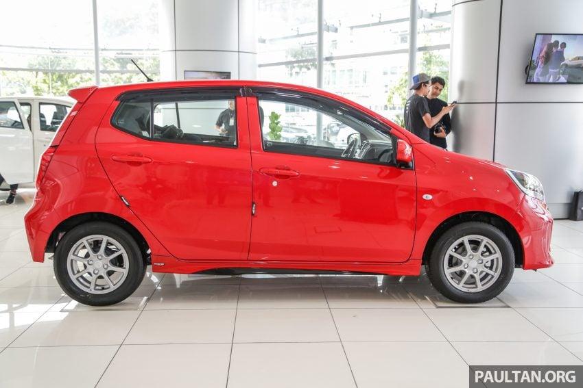 2019 Perodua Axia 小升级开售, VSC入列, 新增跨界等级 Image #106346