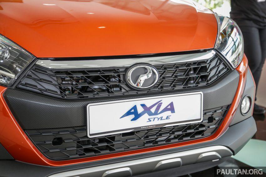 2019 Perodua Axia 小升级开售, VSC入列, 新增跨界等级 Image #106293
