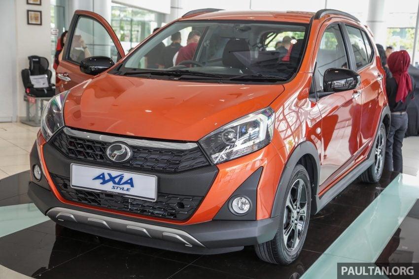 2019 Perodua Axia 小升级开售, VSC入列, 新增跨界等级 Image #106283