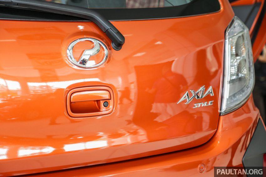 2019 Perodua Axia 小升级开售, VSC入列, 新增跨界等级 Image #106305