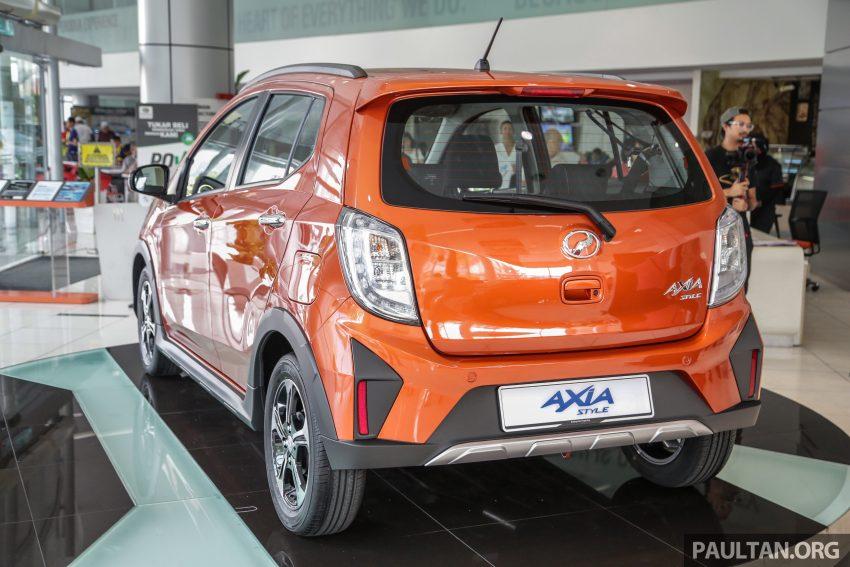 2019 Perodua Axia 小升级开售, VSC入列, 新增跨界等级 Image #106285