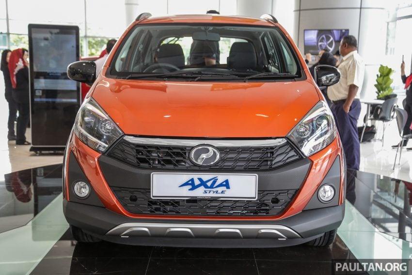 2019 Perodua Axia 小升级开售, VSC入列, 新增跨界等级 Image #106286