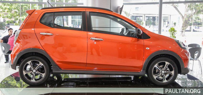 2019 Perodua Axia 小升级开售, VSC入列, 新增跨界等级 Image #106288