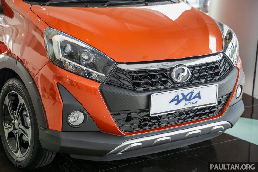 2019 Perodua Axia 小升级开售, VSC入列, 新增跨界等级 Image #106289