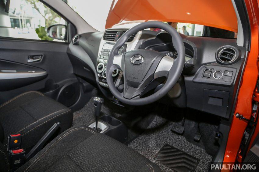 2019 Perodua Axia 小升级开售, VSC入列, 新增跨界等级 Image #106310