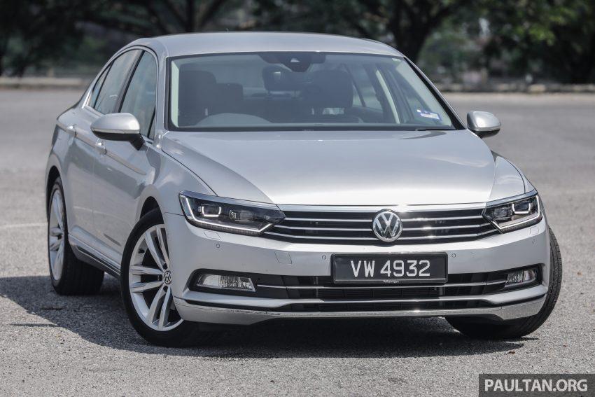 试驾: Volkswagen Passat 2.0 TSI Highline, 低调的实力派 Image #106693
