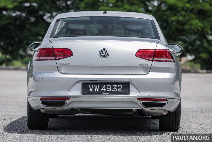 试驾: Volkswagen Passat 2.0 TSI Highline, 低调的实力派 Image #106706