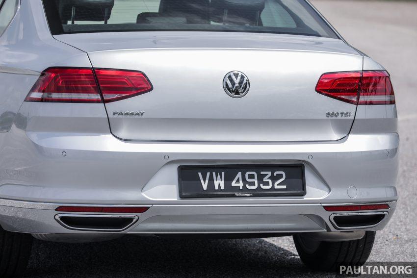 试驾: Volkswagen Passat 2.0 TSI Highline, 低调的实力派 Image #106719
