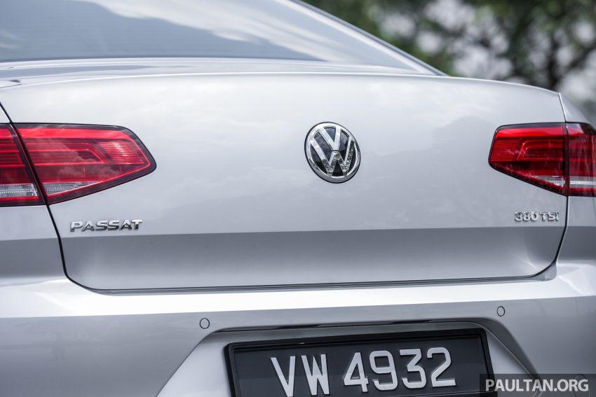 试驾: Volkswagen Passat 2.0 TSI Highline, 低调的实力派 Image #106723