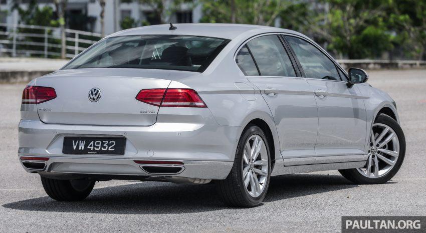 试驾: Volkswagen Passat 2.0 TSI Highline, 低调的实力派 Image #106697