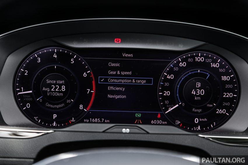 试驾: Volkswagen Passat 2.0 TSI Highline, 低调的实力派 Image #106739