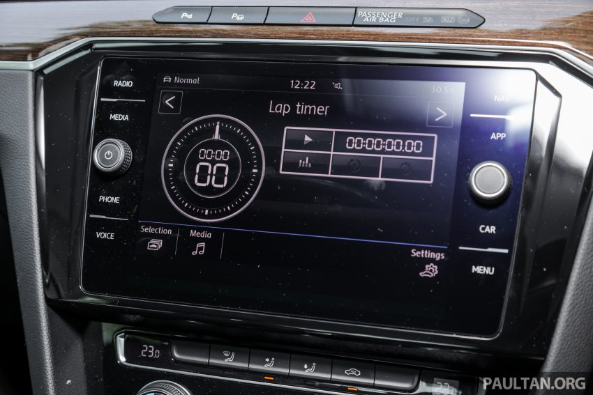 试驾: Volkswagen Passat 2.0 TSI Highline, 低调的实力派 Image #106755