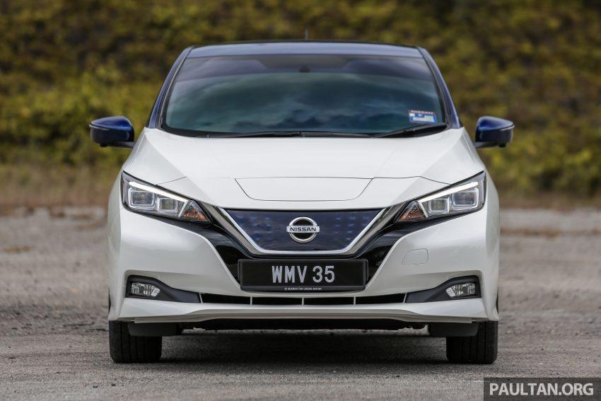 新车试驾: 第二代 Nissan Leaf, 专为小众电动车市场而生 Image #109300