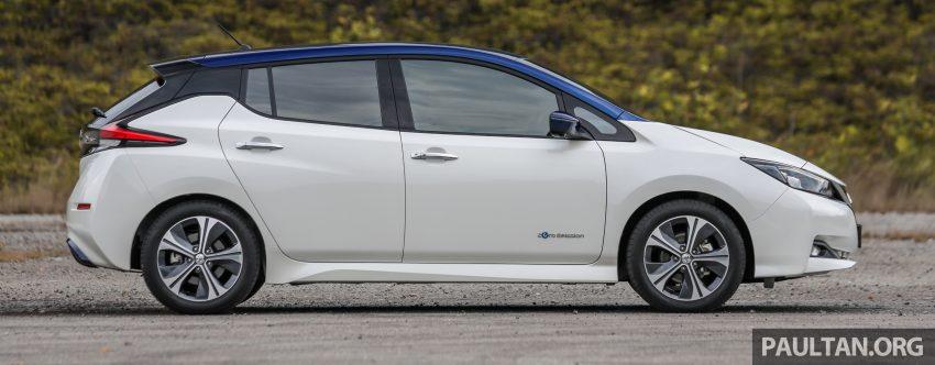 新车试驾: 第二代 Nissan Leaf, 专为小众电动车市场而生 Image #109304