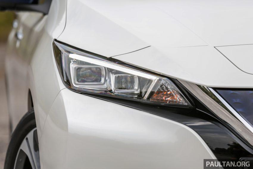 新车试驾: 第二代 Nissan Leaf, 专为小众电动车市场而生 Image #109306