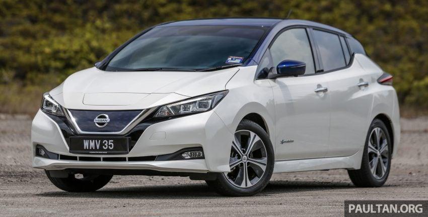 新车试驾: 第二代 Nissan Leaf, 专为小众电动车市场而生 Image #109292