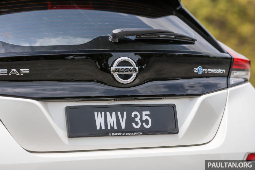 新车试驾: 第二代 Nissan Leaf, 专为小众电动车市场而生 Image #109324