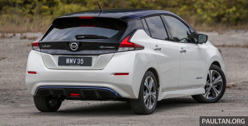 新车试驾: 第二代 Nissan Leaf, 专为小众电动车市场而生 Image #109295