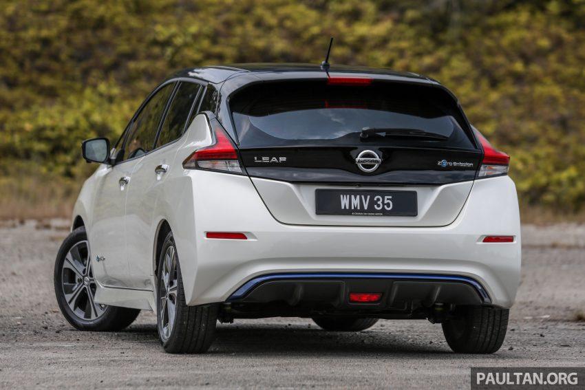 新车试驾: 第二代 Nissan Leaf, 专为小众电动车市场而生 Image #109298