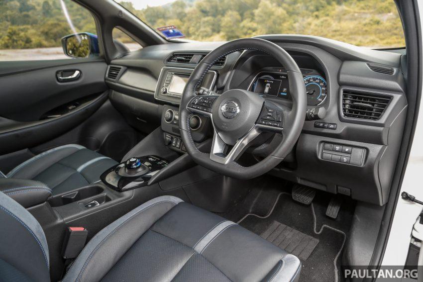 新车试驾: 第二代 Nissan Leaf, 专为小众电动车市场而生 Image #109332