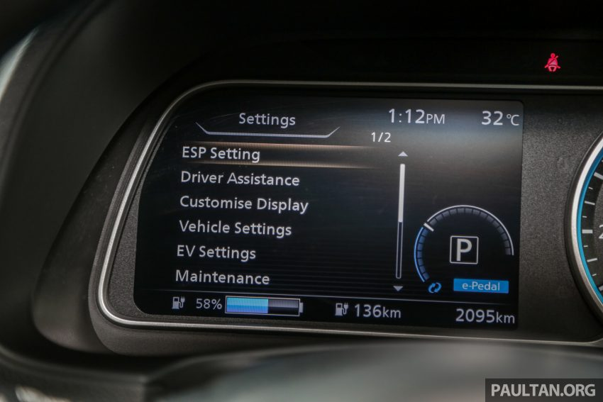 新车试驾: 第二代 Nissan Leaf, 专为小众电动车市场而生 Image #109343