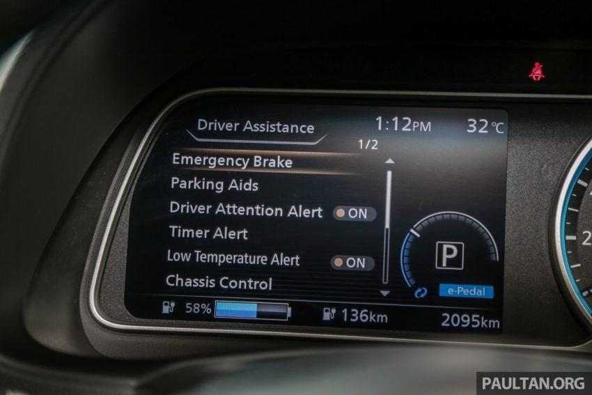 新车试驾: 第二代 Nissan Leaf, 专为小众电动车市场而生 Image #109345